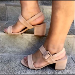 Shoes - New nude low block